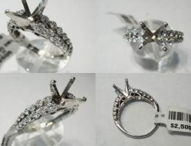 0.75CT Diamond Engaement Ring $1200