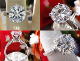 2.04CT Round Brilliant Diamond Engagement Ring GIA Lab Certified and Appraised at $35,700 Price: $17,000