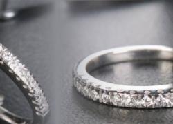 0.18CT Diamond Band Price: $350