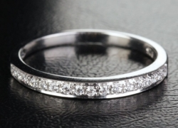 0.18CT Wedding Band Price: $395