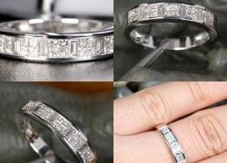 0.88CT Diamond band Price: $895